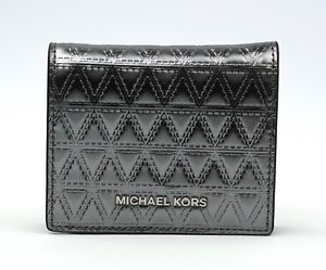 Michael Michael Kors Flap Card Holder Wallet 32H7SF6F2K, New