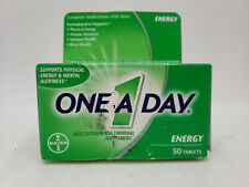 ONE A DAY ENERGY 50 TABLETS SUPPORTS PHYSICAL ENERGY & MENTAL ALERTNESS BAYER
