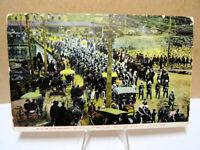1909 Postcard Dunlap Commandery Knights Templar Bath Rumford Falls Maine ME