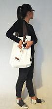 Moderne Stofftasche zum Umhängen von DANGEROUS INK in Ecru