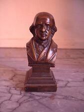 superbe sculpture en bronze du chansonnier Pierre-Jean de Béranger ( BERANGER )
