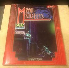 Mean Streets (West End 33050) MasterBook Bloodshadows Campaign GM Screen