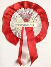 Independiente Vintage 1970's Good Luck Rosette