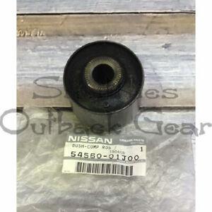 4 X RADIUS ARM TO DIFF BUSH GENUINE NISSAN 54560-01J00