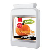 Pumpkin Seed  120 Capsules HIGH STRENGTH FORMULA 2000mg UK Purvitz