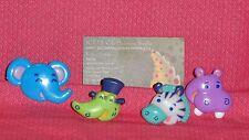 Jungle/Safari Cupcake Party Rings,Multi-Color,Plastic,Bakery Crafts,Kids Party