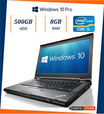 pc portatile notebook usato ricondizionato 14 pollici 8GB 500GB Lenovo T430 i5