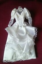 1991 Barbie Bridal Collection white wedding gown