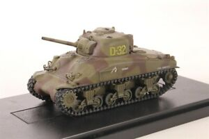 Dragon Armor 60258 U.S. Camo Sherman Tank 2nd Armored Division Normandy 1/72 New