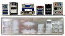 ATX Blende I/O shield Asus P8Z68-M Pro #290 io schield NEU OVP