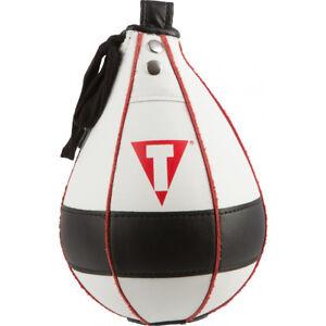 "Title Boxing Lightning Fast Speed Bag - 5"" x 7"" - White/Black"