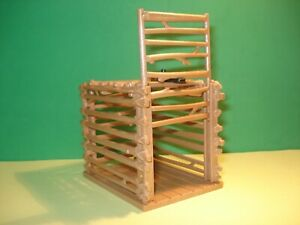 Playmobil 9006 Cage Of Wood Of 3 1/2in X 2 3/8in 13/16in, Condition New