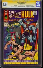 Tales to Astonish #90 CGC 9.6 Signed Stan Lee! 1st Abomination! Highest SS Copy!