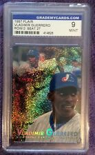 ⚾️ 1997 Flair Montreal Expos Baseball Card #27 Vladimir Guerrero GMC 9 MINT