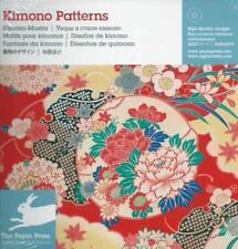 Kimono Patterns Kimono-Muster Vorlagen zur freien Verwendung Buch + CD NEU!