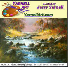 Jerry Yarnell School of Fine Art dvd Dripping Springs acrylic painting lesson