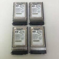 Lot of 25 - HP 512545-B21 512743-001 73GB 6G 15K 2.5'' SFF SAS Disk Drive