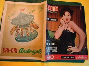 ORNELLA VANONI LE ORE N. 331 SETT. 1959 ELSA MARTINELLI