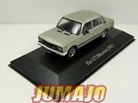 AQV9J Voiture 1/43 SALVAT Inolvidables 80/90: FIAT 125 Mirafiori 1981