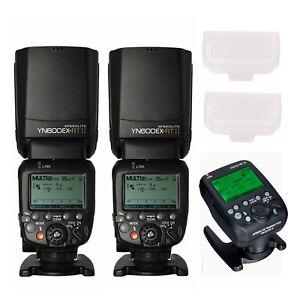 Yongnuo YN600EX-RT II 2.4G Wireless HSS Flash + YN-E3-RT II Radio Transmitter