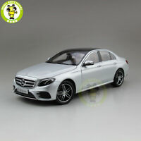 1/18 iScale Daimler Mercedes Benz E Class Klasse Diecast Model Car Gift Silver