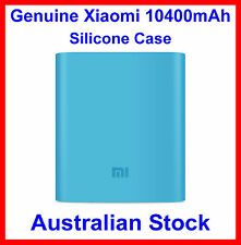 Genuine Soft Silicone Case Blue for Xiaomi 10400mAh Power Bank