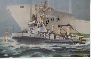 DDR-Volksmarine, Seezeichenkontrollboot DARSSER ORT, foto 9x14cm