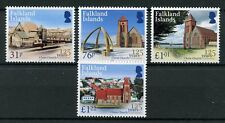 Falkland Islands 2017 MNH Christ Church Cathedral 125 Yrs 4v Set Churches Stamps