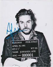 Afie Jurvanen Signed 8x10 Photo Bahamas Music Brushfire Records 'All The Time'