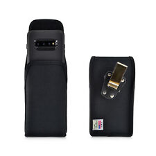 Belt Clip - Galaxy S10+ Plus w/ OTTERBOX DEFENDER Vertical Holster Black Nylon