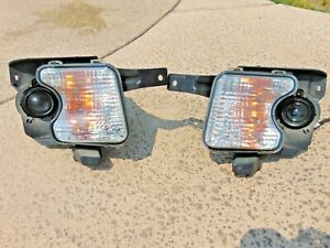 07-10 Saturn Outlook Fog Light Turn Signal Lights Restored Lenses LH & RH OEM