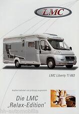 Prospekt LMC Liberty TI 663 Motorcaravan Reisemobil Wohnmobil brochure motorhome