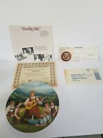 Do-Re-Mi Knowles Fine China Plate w/ COA 1986 2nd Sound Of Music Plate NIB