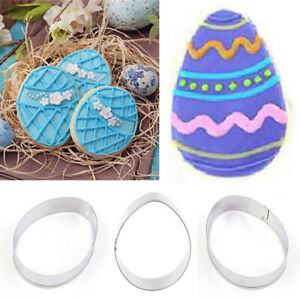 Easter Egg Cutting Die Molds Stainless Steel Mould Home Cake Decor Crafts