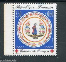 FRANCE - 1990 yvert 2646a Croix Rouge de carnet neuf**