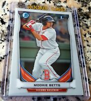 MOOKIE BETTS 2014 Bowman CHROME 1st Rookie Card RC Red Sox Dodgers $$$ HOT $$$