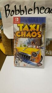 BRAND NEW SEALED TAXI CHAOS NINTENDO SWITCH VIDEO GAME