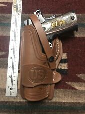 Fits Left Hand Colt Ria Ati 45 Model 1911 Holster Wild Bunch Style Field Holster