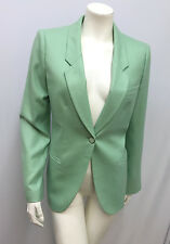 GIORGIO ARMANI BLACK LABEL 100% CASHMERE JACKET MINT GREEN GREAT STYLE SIZE 42