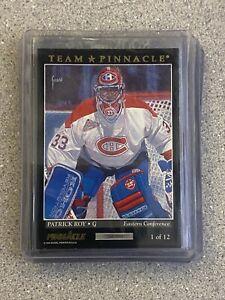 1993-94 PINNACLE TEAM #1 PATRICK ROY / ED BELFOUR