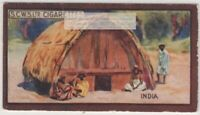Toda Mand House Southern India  1920s Ad Trade Card