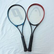Lot Of 2 OS Tennis Racquets Head Agassi Piannacle and Prince Precision Elite
