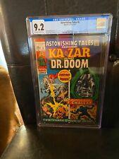 Astonishing Tales #6, NM- 9.2 CGC, 1st Mockingbird; 1st Panther-Dr. Doom Meeting
