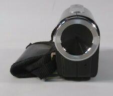 "Jazz Hdv140 Camcorder 12.0Mp 2.4"" 8x Digital Zoom Standard Black Fair Condition"