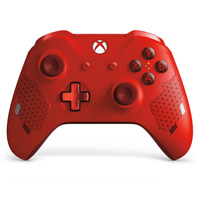 New Microsoft Wl-300125 Xbox One Sport Red Special Edition Wireless Controller
