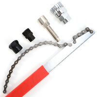 Bike Freewheel Chain Whip Sprocket Lockring Remover Tool Cassette Cycle Bike