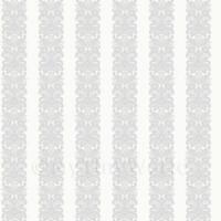 Puppenhaus Miniatur Blumenmuster Grau Streifen Tapete