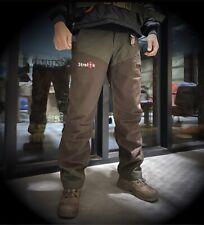 Strelok Tactical Summit Hunting Waterproof Anti Thorns Pants Green Brown