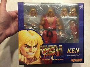 Storm Collectibles Ken Ultra Street Fighter II 1/12 Figure NEW US SELLER