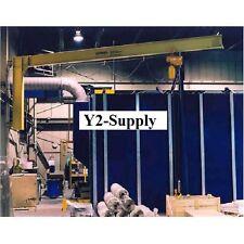 New Hd Wall Cantilever Jib Crane 18 Span Amp 200 Rotation 10000 Lb Capacity